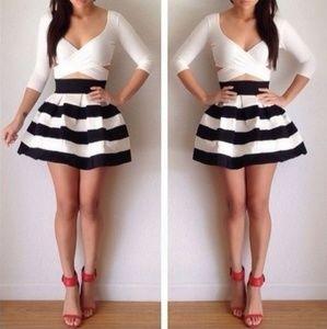 Ginger G Stripe Skirts